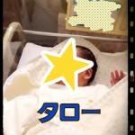 息子たろー誕生!!!